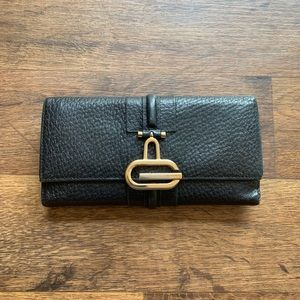 Gucci Black Calfskin Leather Wallet